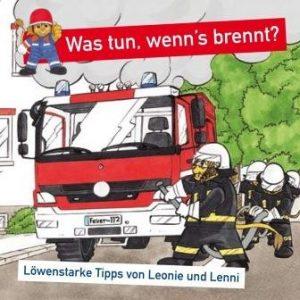 Titelseite Comic 'Was tun, wenn´s brennt?' © HMdIS